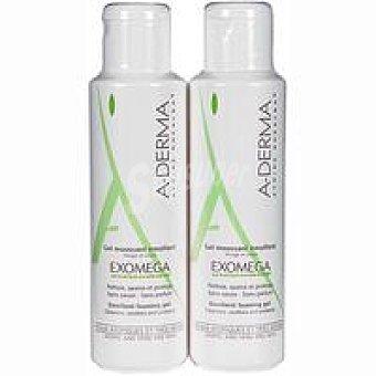 A-Derma Exomega gel limpiador Pack 500+500