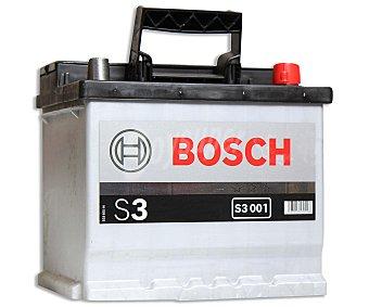 Bosch Batería de automóvil de 12v 41 Ah, con potencia de arranque de 360 Amperios 1 unidad