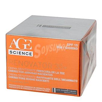Les Cosmetiques Crema facial día desfatigante 30+ 50 ml.