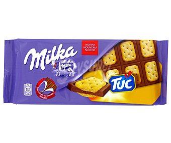Milka Tableta chocolate con galleta Tuc 87 g