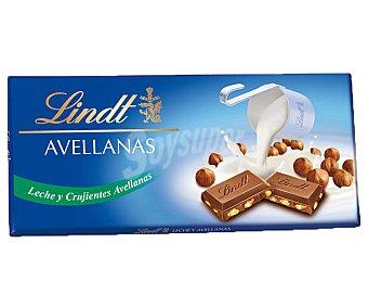 Lindt Chocolate con leche y avellanas Tableta 100 g
