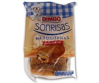 Bimbo Napolitana de chocolate  Pack 6 u x 40 g