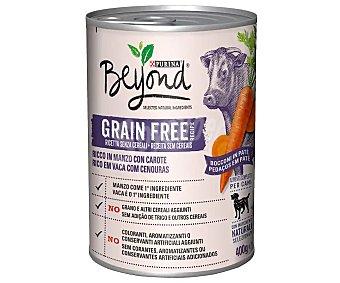 Beyond Purina Comida para perros húmeda de buey grain free 400 g