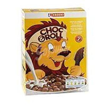 Eroski Choc&roll de maíz con chocolate Caja 375 g