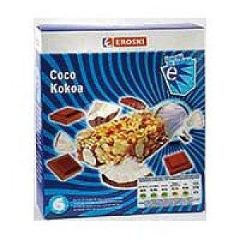 Eroski Barritas de cereales-coco 6 u de 25 g
