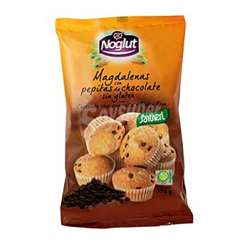 Santiveri Noglut magdalena pepitas chocolate - Sin Gluten 180 g