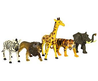 Productos Económicos Alcampo Animal de la Jungla Fabricados en Plástico Resistente 1 Unidad