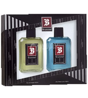 Brummel Estuche Colonia 125ml. + after shave 125ml. 1 ud