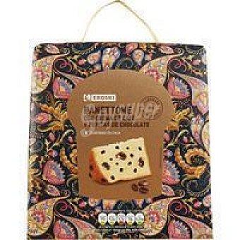 Eroski Panettone de chocolate-café caja 800 g