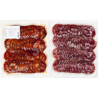 V. Alagón Chorizo-salchichón ibérico Pack 2x250 g