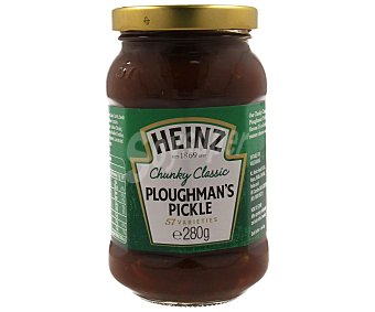 Heinz Encurtidos ploughmans pickle 280 gramos