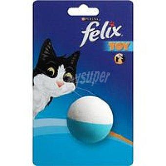 Felix Purina Juguete pelotas surtidas azul-blanca Pack 1 unid