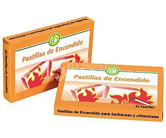 Productos Económicos Alcampo Pastillas de Encendido 32 Unidades (250 Gramos)