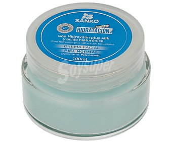 SANKO Crema facial hidratante para piel normal 100 ml