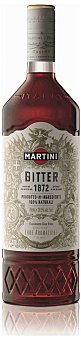 Martini Bitter vermouth 100% natural Botella 75 cl