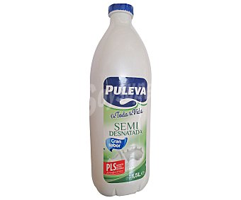 Puleva Leche Semidesnatada Botella de 1,5 Litros