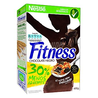 Fitness Nestlé Cereales Integrales con Chocolate Negro 600 g