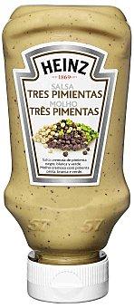 Heinz Salsa tres pimientas 220 ml