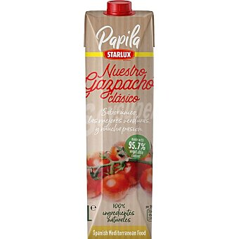 PAPILA Gazpacho clásico Envase 1 l
