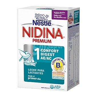 Nidina Nestlé Leche 1 para lactantes en polvo Confort Digest 750 g