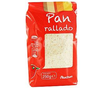 Auchan Pan rallado 250 gramos