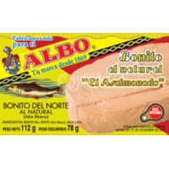 Albo Bonito natural asalmonado Lata 78 g