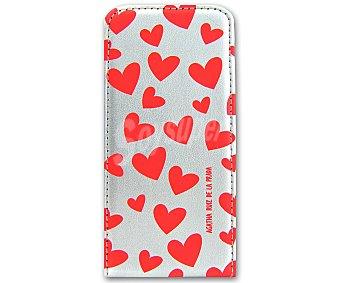 Ágatha Ruiz de la Prada Funda con tapa corazones para iPhone 5 1u
