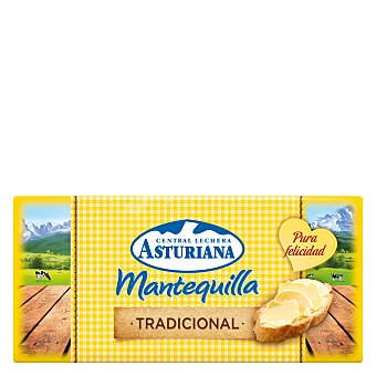 Central Lechera Asturiana Mantequilla pastilla 125 g