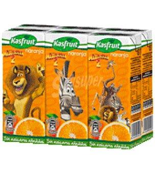 Kasfruit Zumo naranja Pack de 6x20 cl
