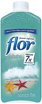 Flor Suavizante concentrado oceánico Botella 70 dosis