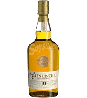 Glenkinchie Lowland Single Malt Scotch Whisky de 10 años 70 cl