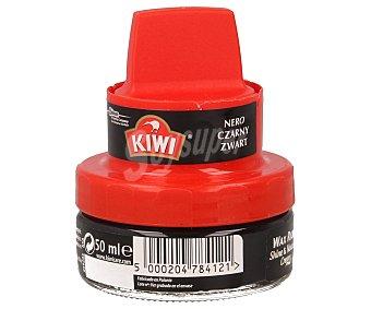 Kiwi Crema Calzado con Aplicador Negro 50 ml