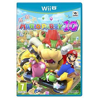 WII U Videojuego Mario Party 10  1 Unidad
