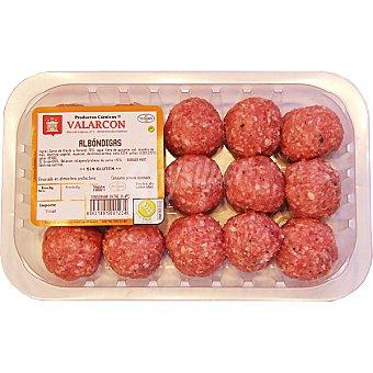 VALARCON Albóndigas mixtas vacuno y cerdo Bandeja 450 g