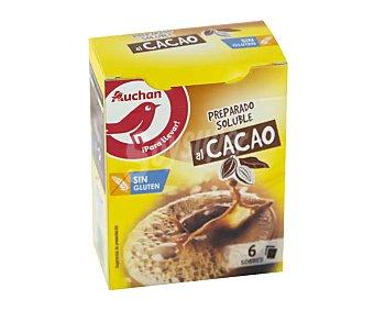 Producto Alcampo Cacao soluble en sobres 6 uds. 108 g