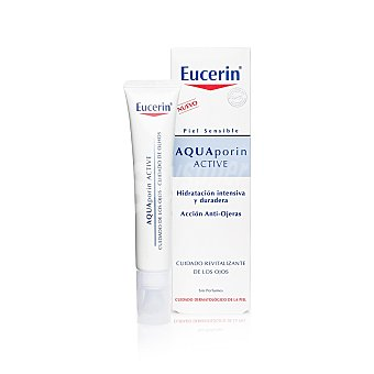 Eucerin Aquaporin Active crema contorno de ojos Dosificador 15 ml