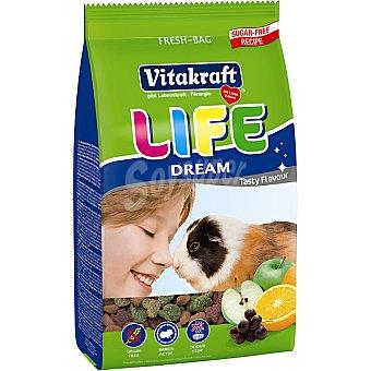 Vitakraft Alimento completo para cobayas con frutas Life Dream Bolsa 600 g