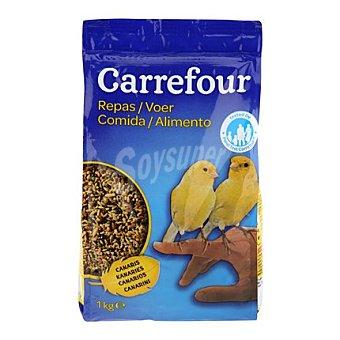 Carrefour Comida para canarios 1 kg