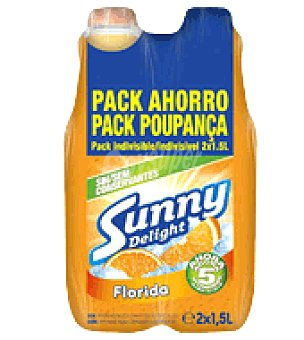 Sunny Delight Refresco Florida Style pack de 2x1,5 l