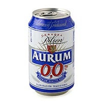 Aurum Cerveza sin alcohol Lata 33 cl