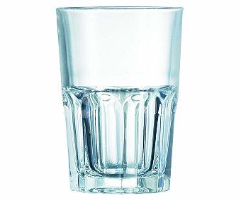 Auchan Vaso alto para agua New America, con capacidad de y fabricado en vidrio 40 centilitros