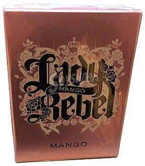 MANGO Eau toilette mujer Lady rebel Botella de 50 cc