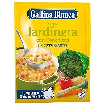 Gallina Blanca Sopa jardinera Sobre de 71 g