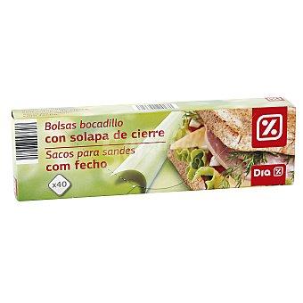 DIA Bolsa sadwich Paquete 40 uds