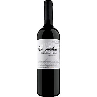 Sardasol Vino tinto merlot semicrianza D.O. Navarra botella 75 cl