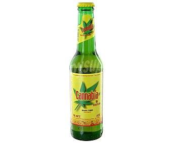 Cannabia Cerveza alemana rubia con cáñamo Botella de 33 cl