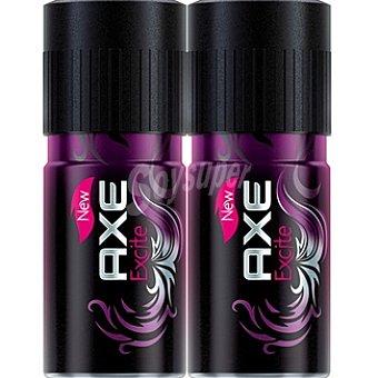 Axe Desodorante Excite Pack 2 spray 150 ml