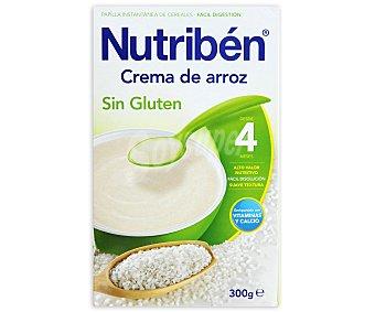 Nutribén Crema de arroz sin gluten 300 g