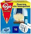 Insecticida aparato eléctrico con 10 pastillas Caja 1 unidad  Fogo