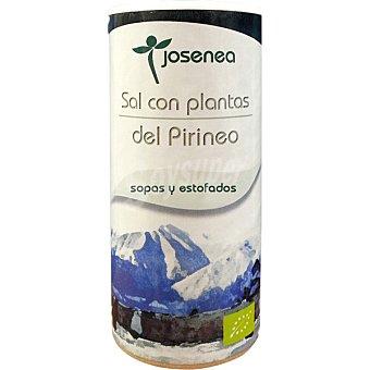 JOSENEA Sal con plantas del Pirineo especial para sopas y estofados Bio  envase de 100 g